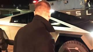 Tesla Cyber Truck!  TEST, Обзор нового электромобиля от Тесла!  Tesla CyberTruck, Салон...