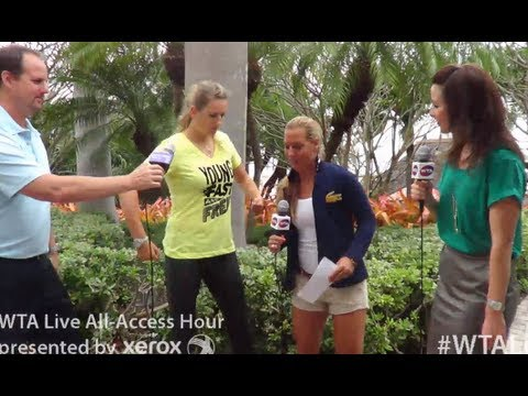 WTA Live All Access Hour presented by Xerox | 2013 Sony Open Tennis