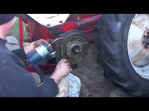 replacing rear axle seals 1948 ford 8n 2 2 youtube Small Engine Points and Condenser