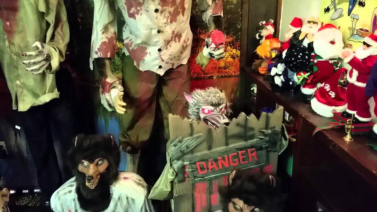almost all my spirit halloween props part 1 - Spirit Halloween Props