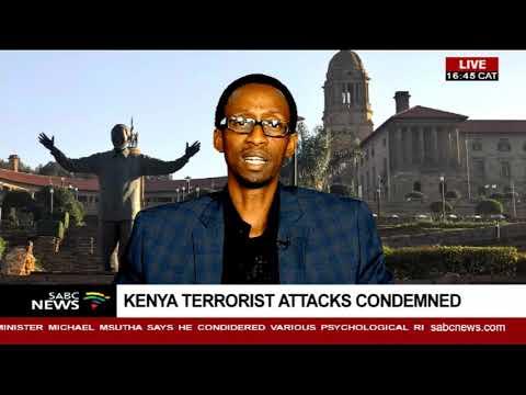 Institute Of Security Studies condemn Kenya attacks