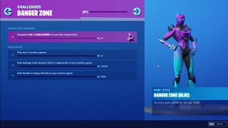 THEY TOOK AWAY THE ZONE WARS BUNDLE CHALLENGES (Blue Edit Styles For Free)