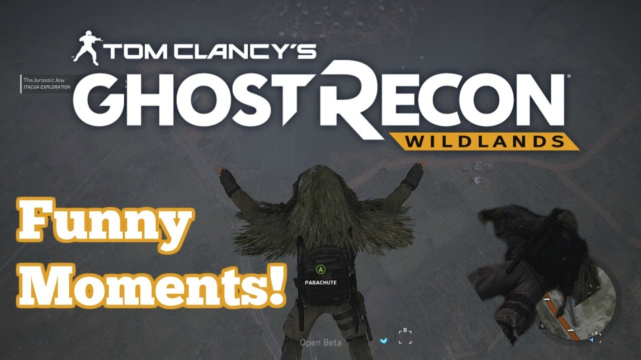 maxresdefault ghost recon wildlands funny moments! dank memes, parachute, and