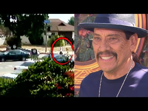 The Morning Madhouse - Danny Trejo Rescues Boy Trapped in Car Following Crash