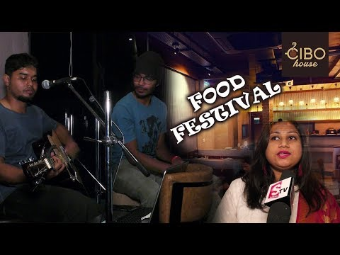 CIBO house Hitech City Hyderabad Restaurant Food Festival | CIBO House Food Festival With Live Music