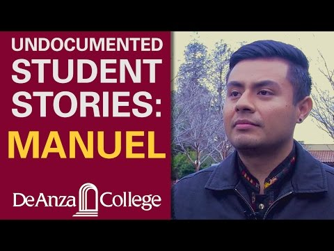 Undocumented Student Stories: Manuel | De Anza College