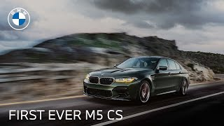 homepage tile video photo for Introducing The First-Ever BMW M5 CS Sedan | BMW USA