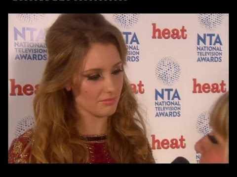 Ella Henderson National Television Awards backstage interview with Heat World (23rd January)