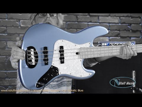 Lakland 44-60 Custom - Ice Metallic Blue