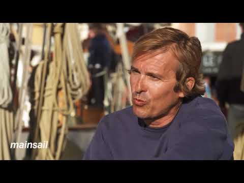 CNN Mainsail, Shirley Robertson - Voiles de Saint Tropez