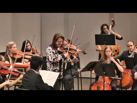Nadja Salerno-Sonnenberg with The Loyola Chamber Orchestra 11-5-2016