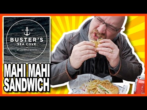 ♥ Grilled Mahi Mahi Sandwich ♥ from Busters Sea Cove @ St. Lawrence Market, Toronto