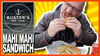 ♥ Grilled Mahi Mahi Sandwich ♥ from Busters Sea Cove @ St. Lawrence Market, Toronto