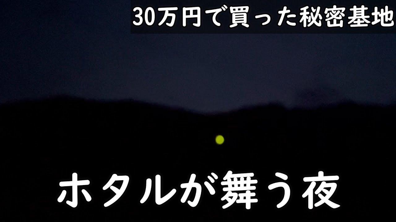 【30万円で買った別荘】ホタルがいました。