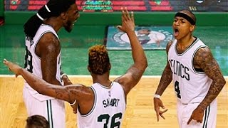 Isaiah Thomas and Marcus Smart Come Up Clutch for Boston