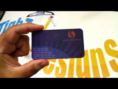 Custom 4D Lenticular Cards - Holographic Business Cards - 3D Card Printing