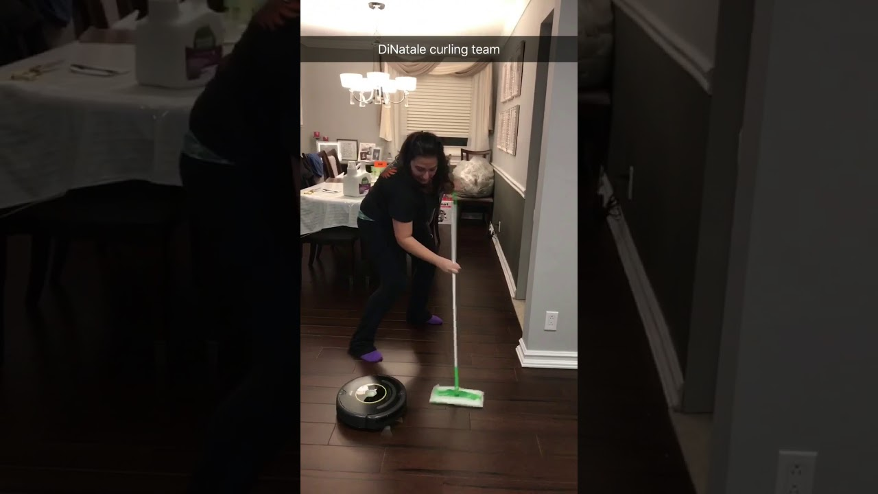 Intense Roomba Curling Youtube