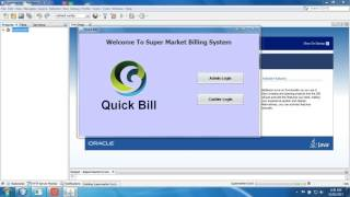 Quick bill- it is application based supermarket billing system software which are made using java swing. that records all the details such as cashier, stock ...