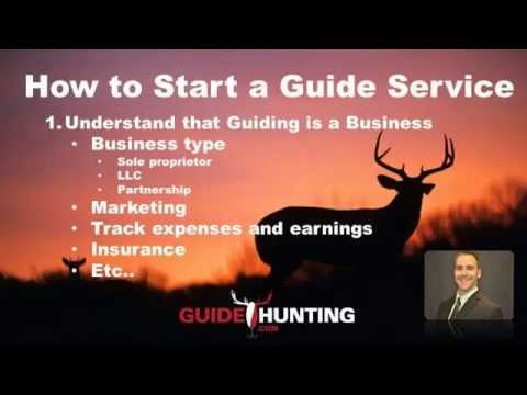 How to Become a Guide & Start a Guide Service