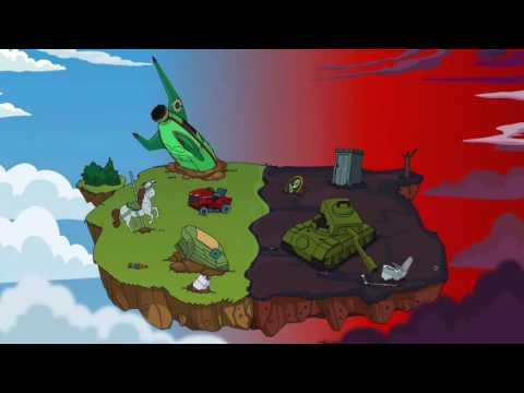 Animation Throwdown Rumble Empire Allstars VS Raptorex Omega!!
