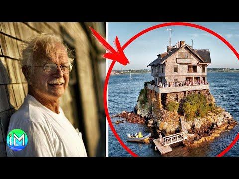 Il governo gli aveva preso la casa ma lui ha comprato una roccia per 200$ e ottenuto la rivincita...