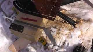 как сделать гранулированный кирпич для птиц