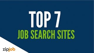 Top 7 Job Search Sites in 2019