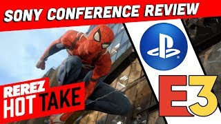 Sony's Best Conference Ever? E3 2018 Review! - Hot Take Game News