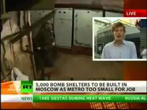 BOMB SHELTERS MOSCOW END OF WORLD SOON- WHO CARES MORE ABOUT THERE PEOPLE USA OR RUSSIA.flv