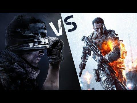 COD Ghosts VS Battlefield 4
