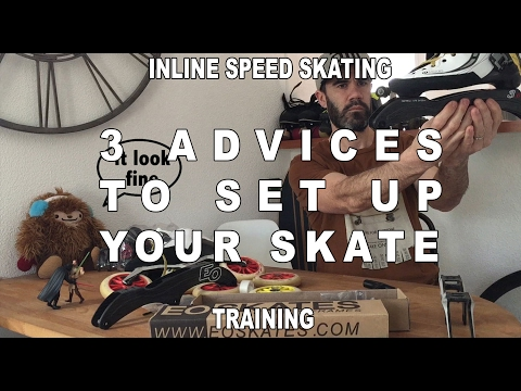 Inline Speed Skating: Set Up Your Skate (Pascal Briand Vlog 19)