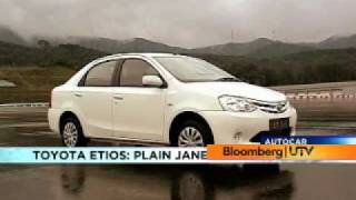 Toyota Etios video review by Autocar India