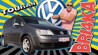 Volkswagen Touran 1 Gen | Test and Review| Bri4ka.com