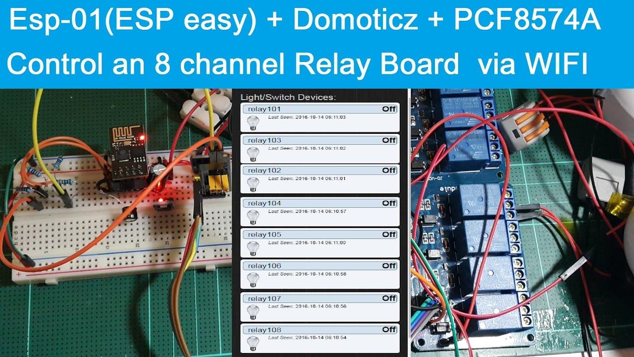 8 Channel Usb Relay Module