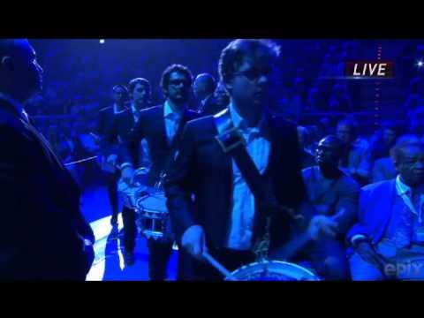 "Josh Groban - ""Brave""- Klitschko vs. Francesco Pianeta boxing match 5/4/13"