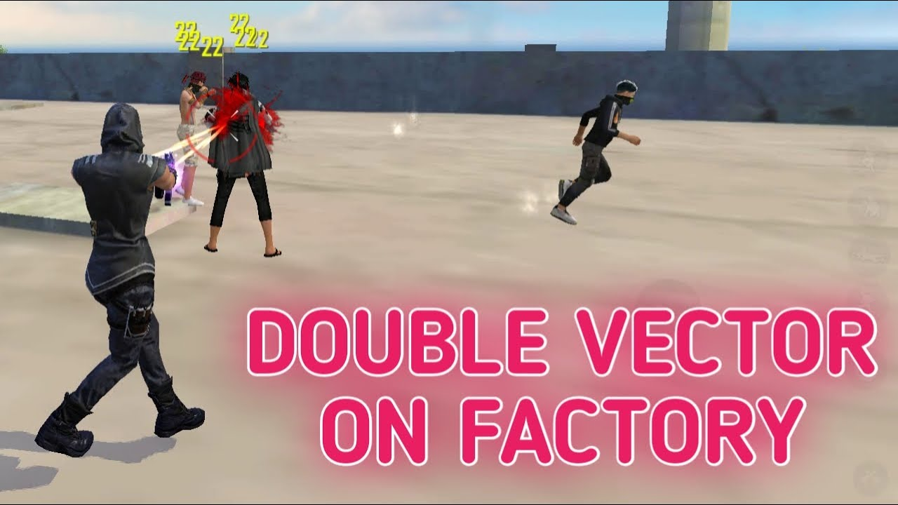 SOLO VS SQUAD    FACTORY KING WITH DOUBLE VECTOR ON ROOF    LAST ONE WAS ULTRA PRO LEGEND PLAYER !!!