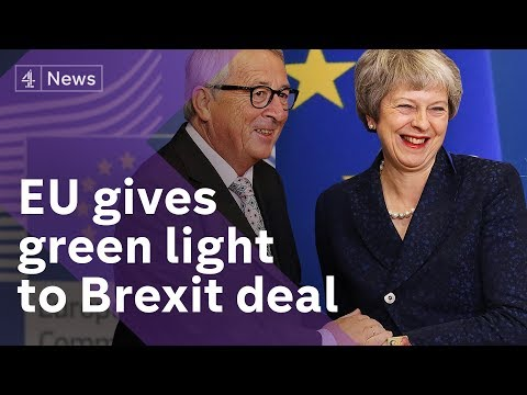 Theresa May gets agreement on Brexit from EU leaders