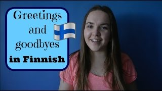 Finnish lesson 1. (Greetings) - Opiskele suomea! - Уроки финского языка.