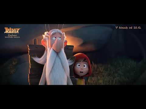 Asterix a tajemství kouzelného lektvaru HD trailer cz dabing