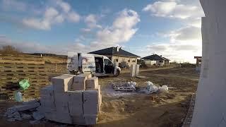 #vlog budowlany 24.02.2018 przerywnik Darka i Kawy. Druga budowa gotowa do szalowania.