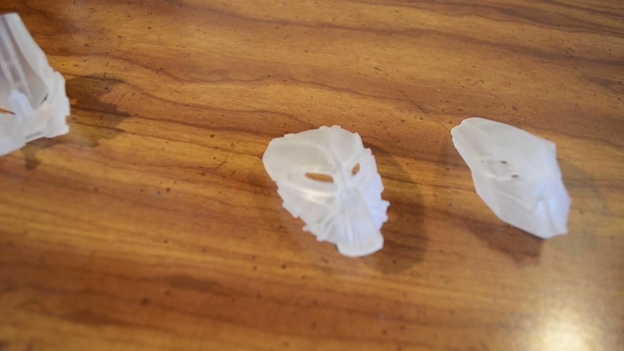 3d printed toa hagah bionicle masks youtube