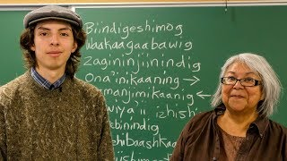 For this grandmother-grandson duo, speaking Ojibway is 'an act of defiance'