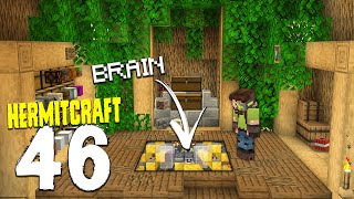 HermitCraft 7: 46 | TREE HOUSE BRAIN!