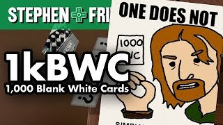 1kBWC 8 - ONE DOES NOT Stephen Friends
