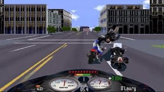 Road Rash Windows-The City Level 5 (Without Using Nitrous)