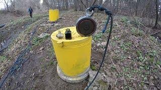 Находки из воды на Поисковый магнит 600 кг