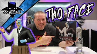 Statue Review: TWO FACE Batman The Animated Series Resin Bust By Diamond Select!