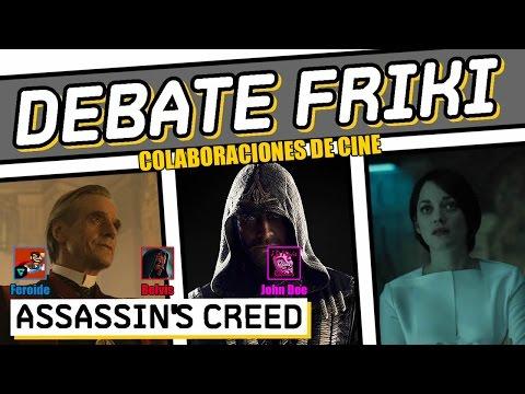 Assassin's Creed - DEBATE - CRÍTICA - REVIEW - OPINIÓN - JOHN DOE - MICHAEL FASSBENDER - 2016