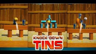 Knock Down Tins: Hit Cans Game Play | Apex Logics screenshot 3