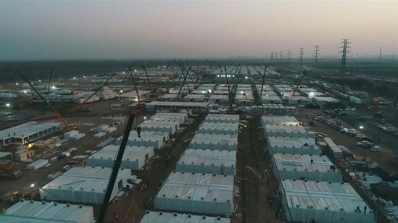شاهد: الصين تنشئ مركزا ضخما لعزل الأشخاص المشتبه في إصابتهم بكورونا  - نشر قبل 16 ساعة
